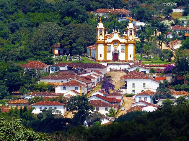 A cidade mais bonita do Brasil está em MG - tiradentes